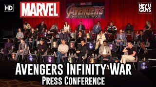 Video Avengers: Infinity War Press Conference MP3, 3GP, MP4, WEBM, AVI, FLV Juli 2018