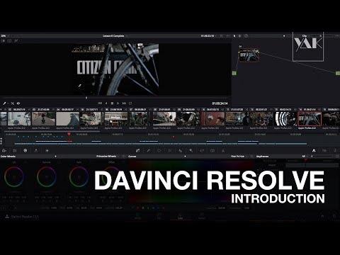 DAVINCI RESOLVE #1: Introduction