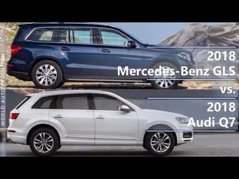 2018 Mercedes GLS vs 2018 Audi Q7 (technical comparison)