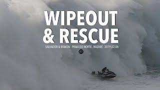 Nonton Wipeout & Heroic Rescue . Raw Footage @ Nazaré, Portugal - 2019.02.06 [Surf, Big Waves, 4K] Film Subtitle Indonesia Streaming Movie Download