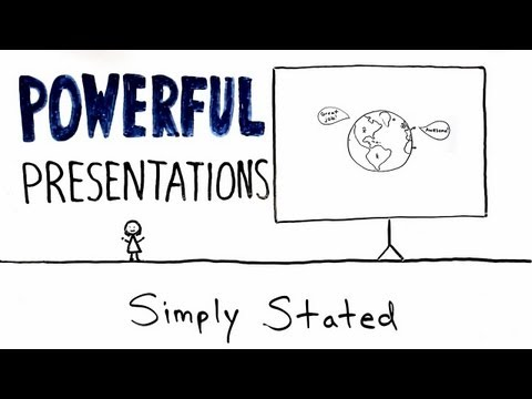 How to Give an Awesome (PowerPoint) Presentation (Whiteboard Animation Explainer Video).