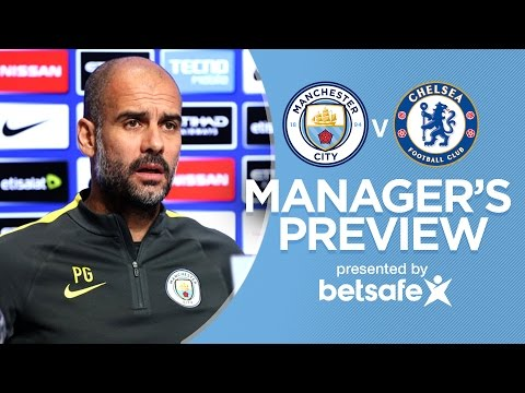 Video: THE PLAYERS CAN DRINK COCA COLA! | Man City v Chelsea | Guardiola Press Conference