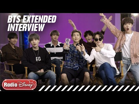 BTS Extended FULL Interview! | Radio Disney