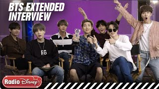 Video BTS Extended FULL Interview! | Radio Disney MP3, 3GP, MP4, WEBM, AVI, FLV Agustus 2019