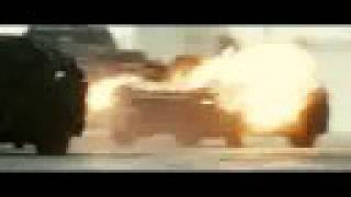 Death Race - Jensen ejects a can of Napalm