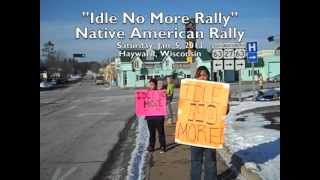 Hayward (WI) United States  city images : Native American Rights Rally in Hayward, Wisconsin