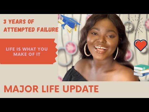 LIFE UPDATE   3 YEARS BREAK,GRADUATION, JOB CHANGES, HOW I DEALT WITH PROCRASTINATION AND NAYSAYERS.