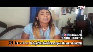 En República Dominicana impera el caos y el desorden en El Jarabe