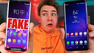 Video $99 Fake Samsung Galaxy S9+ - How Bad Is It? MP3, 3GP, MP4, WEBM, AVI, FLV Oktober 2018