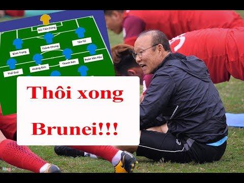 Đội hình U23 Việt Nam đấu U23 Brunei: Thần tốc hai cánh, song sát như mơ | Thể Thao 247 - Thời lượng: 11:03.