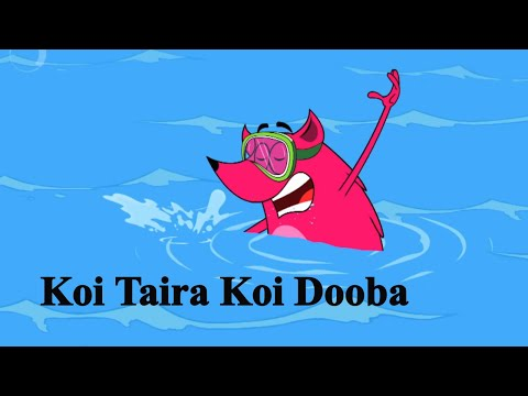 Koi Taira Koi Dooba Ep - 8 - Pyaar Mohabbat Happy Lucky - Funny Hindi Cartoon Show - Zee Kids