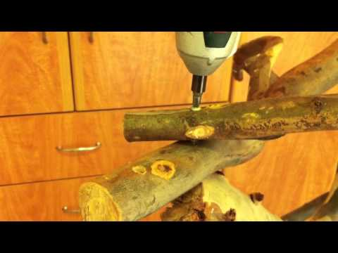 how to build a parrot stand