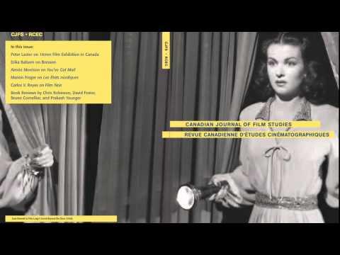 Film Studien, Mel Hoppenheim Kinoschule, Concordia Universität, Montreal