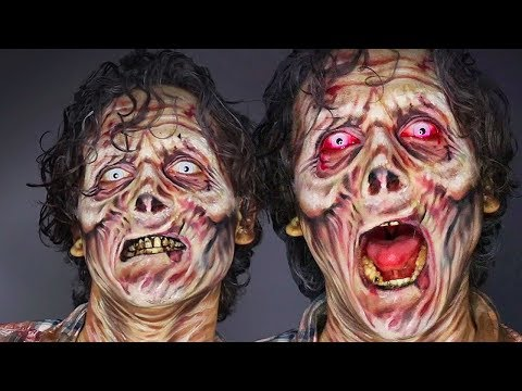 ZOMBIE MAKEUP / MAQUILLAJE ZOMBIE - TUTORIAL - The Faceless Queen