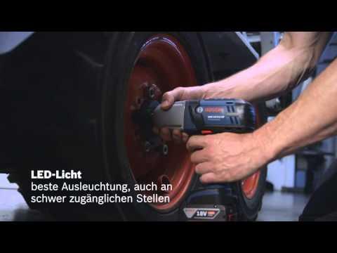 Bosch Akku-Schlagschrauber GDS 18 V-LI HT 2x4.0AH