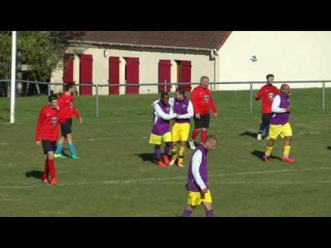 But d'Olivier (2-4) lors du match amical Pommeuse contre Villepinte (3-4) (23-10-2016)