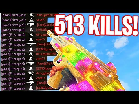 WORLDS FIRST 500+ KILL GAMEPLAY.. (WORLDS MOST KILLS In BLACK OPS 4!) - COD BO4
