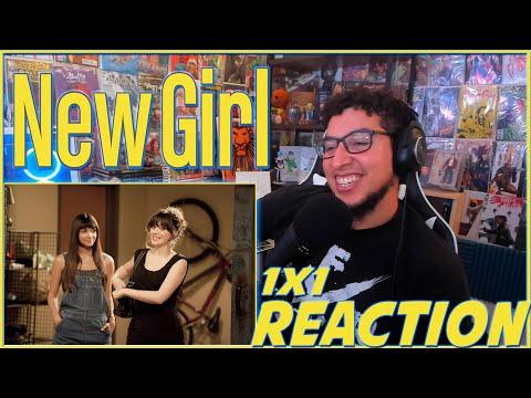 """New Girl REACTION Season 1 Episode 1 """"Pilot"""" 1x1 Reaction!!!"""