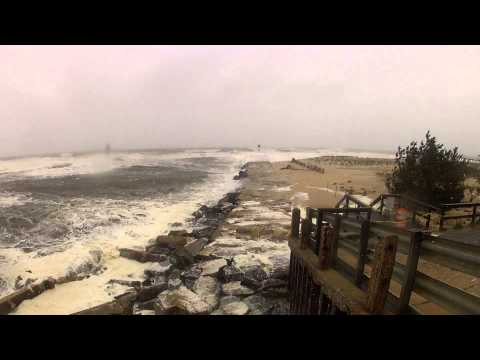 Shark River Inlet - 1 Day Before Sandy