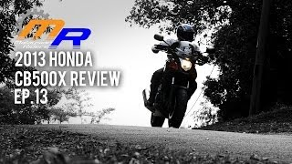 9. 2013 Honda CB500X Review -- Ep.13