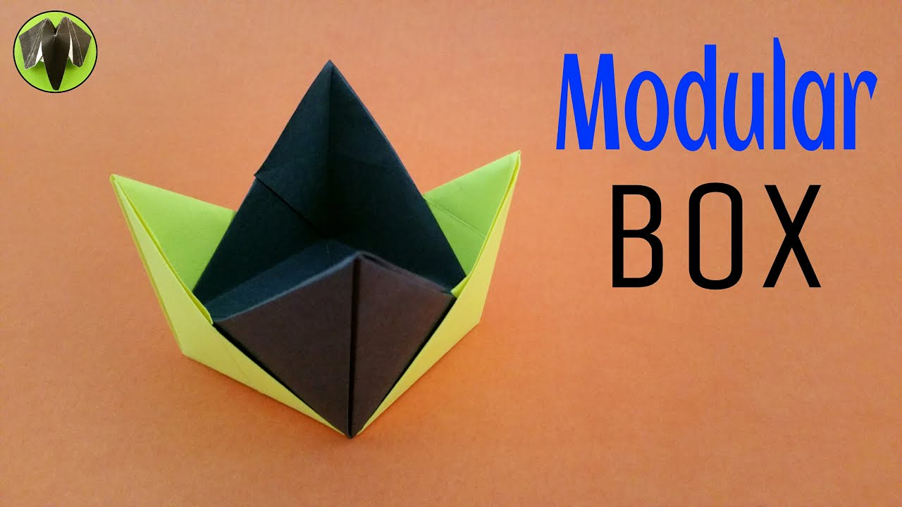 Model paperfolds origami arts and crafts origami tutorial to make a modular box handmade diy jeuxipadfo Choice Image