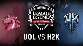 Video UOL vs. H2K  - Week 3 Day 1 | EU LCS Spring Split |  Unicorns of Love vs. H2k-Gaming (2018) MP3, 3GP, MP4, WEBM, AVI, FLV Juni 2018