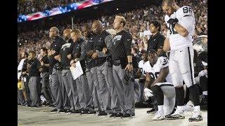 Video Did Raiders Throw NFL Game Over Anthem? MP3, 3GP, MP4, WEBM, AVI, FLV November 2017