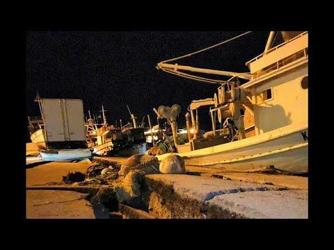 Griechenland: Starkes Erdbeben erschüttert Zakynthos