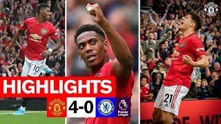 Video HIGHLIGHTS | United 4-0 Chelsea | Rashford, Martial & James on target! | Premier League MP3, 3GP, MP4, WEBM, AVI, FLV Agustus 2019
