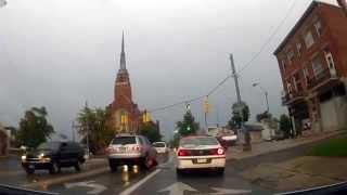 Tiffin (OH) United States  city photo : Driving around Tiffin, Ohio in the rain