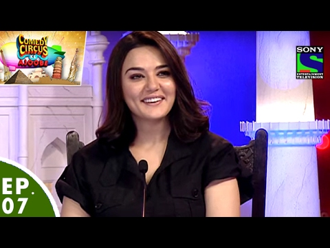 Comedy Circus Ke Ajoobe - Ep 7 - Preity Zinta as Special Guest