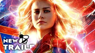 CAPTAIN MARVEL Trailer 2 (2019) Marvel Movie by New Trailers Buzz