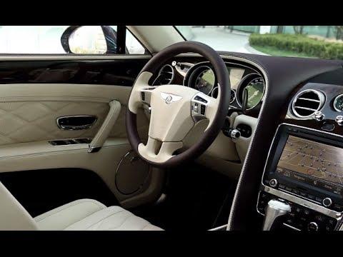 Bentley Flying Spur INTERIOR 2014 Damson Rose HD Bentley Commercial CARJAM TV Bentley Continental