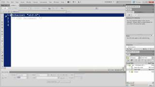 CSS Fundamentals With Dreamweaver CS5 - Part 1