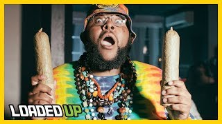 Smoking 2 Ounces Of Weed In One Sitting! | Loaded Up by Loaded Up