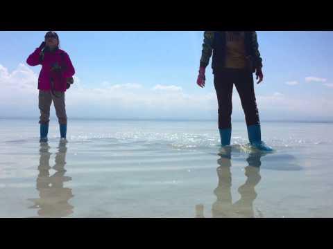 Liqeni mahnitës në Kinë (Video)