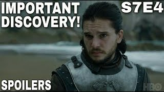 Welcome back for another Game of Thrones Season 7 Episode 4 Preview video. We are just a few days away from the new Episode so I wanted to discuss one other thing that may potentially happen in Game of Thrones Season 7 Episode 4. This is a big Spoiler if it's true so please proceed with caution. According to the plot leak Jon Snow and Daenerys Targaryen will go down into the Cave on Dragonstone to mine for Dragonglass. While they are down there Jon Snow will discover some very interesting Cave Paintings. Check out the video to find out what is discovered! Thank you! Game of Thrones Season 7 Episode 4 will also feature many other great moments. Arya Stark will arrive at Winterfell. Arya Stark and Sansa Stark will reunite. Arya Stark and Bran Stark will reunite as well. The Lannister and Dothraki will go to war during the Field of Fire. The Spoils of War should be a fun Episode! Images from Game of Thrones are property of their creators, used here under fair use.Light of the Seven Remix can be found here!https://youtu.be/qXCuTo-x0WcSupport the channel on Patreon here! https://www.patreon.com/TalkingThronesFollow me on Twitter here! https://mobile.twitter.com/Talking_Thrones