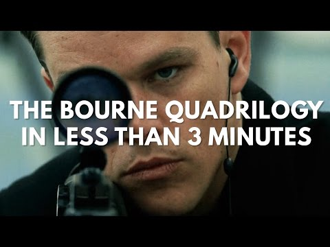 The Bourne Quadrilogy in 3 Minutes