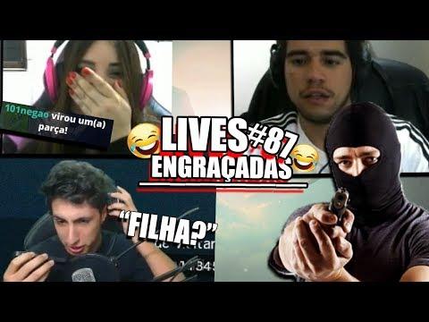 BANDIDO LIGA PRA STREAMER AO VIVO, GAROTA É TROLLADA E MAIS   LIVES ENGRAÇADAS #87