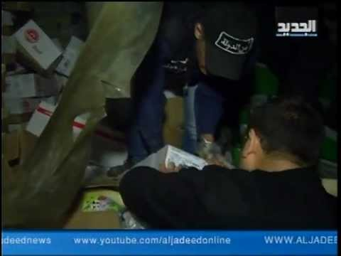 Al Jadeed Footage of Rotten Lebanese Meat- in Arabic