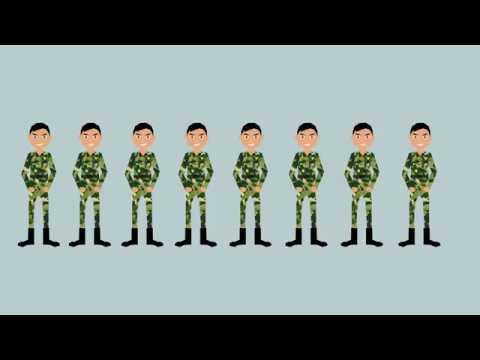 成為一名軍人