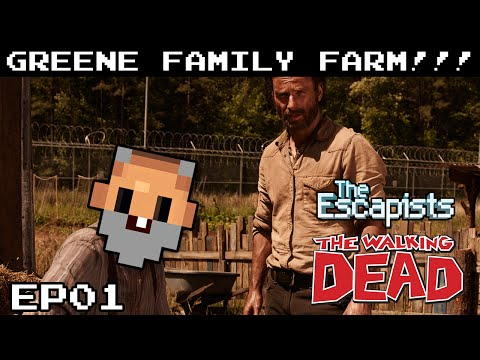 геймплей The Escapists The Walking Dead Deluxe