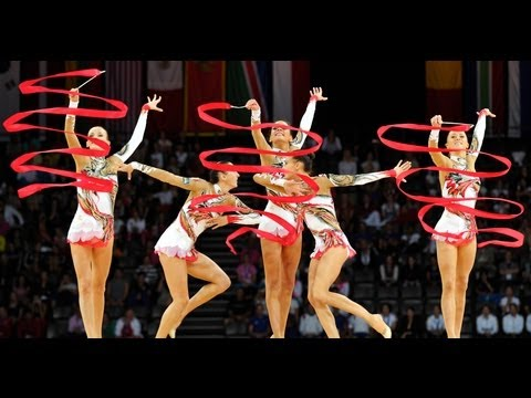 Rhythmic - 31st Rhythmic Gymnastics World Championships MONTPELLIER (France) September 19-25 September 2011 GROUP ALL-AROUND COMPETITION 00:00 FIG logo 00:06 Introducti...