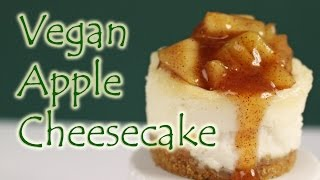 Vegan Apple Cheesecake || Gretchen's Bakery by Gretchen's Bakery