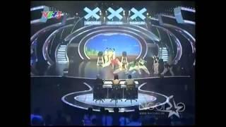 Nhóm Gia Đình Bong Bóng - Bán Kết 6 Vietnam's Got Talent 2011 Tập 15 8/4/2012