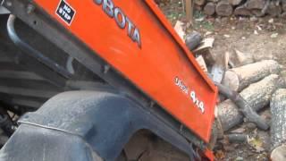 7. Kubota RTV 900: Dumping a Load