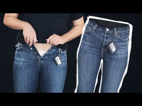 Women Try Jeans In One Size, Different Brands