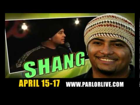 Shang & Adam Hunter @ Parlor Live Comedy Club, Apr 15-17 2010