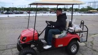 9. New 2013 EZ-60 Express S4 Golf Cart