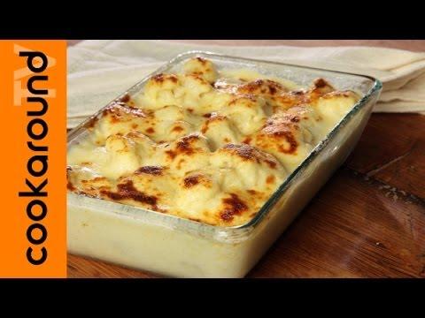 cavolfiore gratinato al forno - ricetta